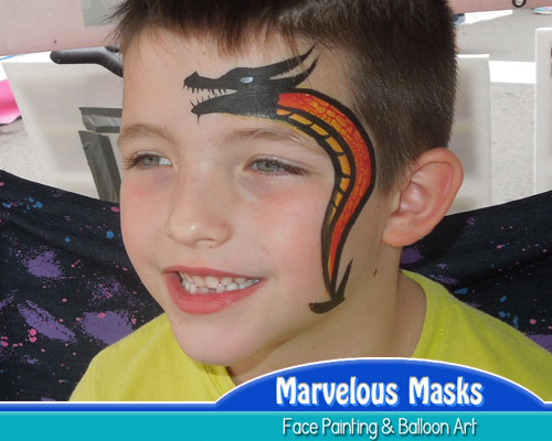 Marvelous Masks Fast Fantastic Face Painting Designs