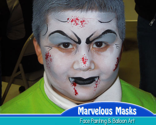 VampireHalloween Face Painting