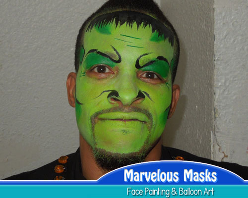 FrankensteinHalloween Face Painting