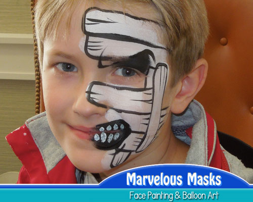 MummyHalloween Face Painting