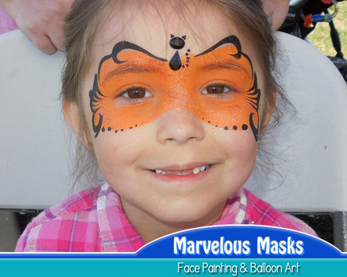 Pumpkin MaskHalloween Face Painting