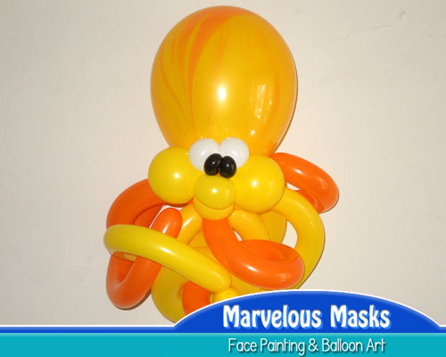 Cheeky Octopus Balloon