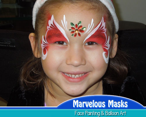 Christmas Face Painting Ideas.Christmas Face Paint Images Thecannonball Org